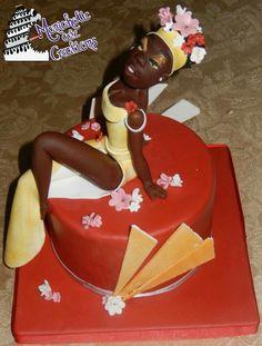 """Gazella nera"" cake topper"