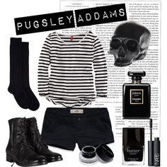 """Pugsley Addams"" by lilyshipwreck on Polyvore"