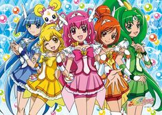 First Japanese ending theme for Glitter Force. In Japan, Glitter Force is known as Smile Pretty Cure/Smile PreCure. Watch Glitter Force on Netflix. I Love Anime, Me Me Me Anime, Glitter Force Characters, Otaku, Smile Pretty Cure, Animes Wallpapers, Desktop Wallpapers, Iphone Wallpaper, Manga