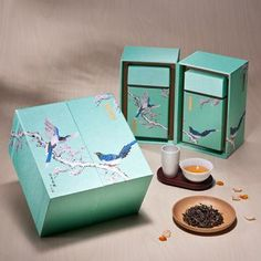 Asian product packaging design and marketing  陳牧系列-白毫烏龍茶 Pretty tea packaging PD