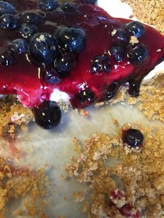 If you live in Alaska, you know what this is.  Blueberry Delight