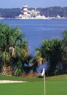 #HaigPoint Golf course has many views of Hilton Head Island and the famous #Lighthouse, South Carolina