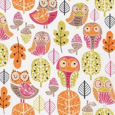 Wendy Kendall - Acorn Forest - Owls in Sweet