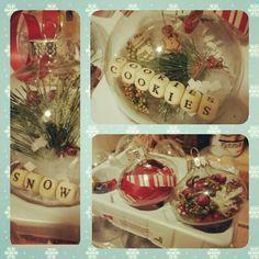 Home made Christmas ornaments!