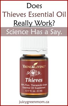 Does Thieves Essential Oil Really Work? Science Has a Say.
