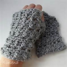 fingerless gloves crochet pattern - Yahoo Image Search Results