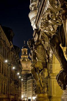 Baroque City - Dresden Frauenkirche, Germany