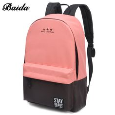 484ac98ac3b3 Fashion Backpack Women Children Schoolbag Back Pack Leisure Korean Ladies  Knapsack Laptop Travel Bags for School Teenage Girls - TakoFashion -  Women s ...