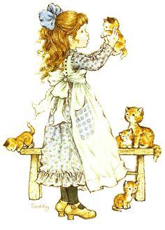 sarah key - Page 2 Sarah Key, Holly Hobbie, Mary May, Decoupage, Australian Artists, Cute Illustration, Crazy Cat Lady, Vintage Cards, Vintage Children