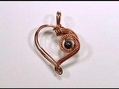 Как сделать из проволоки подвеску Сердце. Нам понадобятся: проволока 1 мм, проволока 0,3 мм, одна бусина, инструмент и Ваши золотые руки!