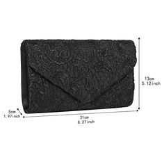 This clutch bag is an essential addition to your accessory collection. Envelope Clutch, Clutch Bag, Pack Of Gum, Best Purses, Wedding Purse, Lace Making, Compact Mirror, Party Bags, Women Lingerie