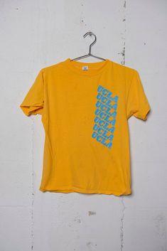 Vintage 80's UCLA Logo T Shirt Rare Soft Thrashed M | Etsy