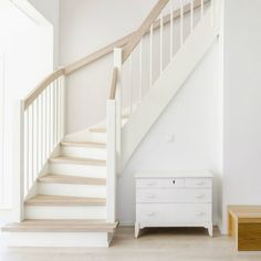 Maybe solution for the steep narrow stairs Attic Bathroom, My House, Entryway, New Homes, Stairs, Home And Garden, Flooring, Interior, Stair Case