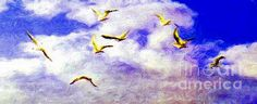 Golden Sea Gulls for Your Home!
