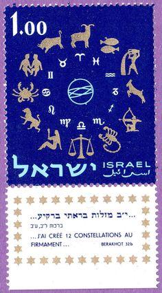 Zodiac Horoscope Astrology Tierkreiszeichen Astronomy Constellation Israel