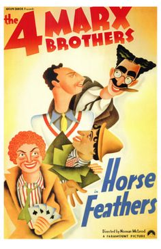 The Marx Bros.!  Even Zeppo!