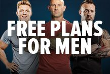 Follow our Free plans For Men. Whether you want to burn fat, build muscle, boost strength, or completely reshape your body, we have a complete plan for you. Bodybuilding.com