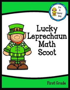 Get your students up and moving around while they practice addition and subtraction with this St. Patrick's Day themed scoot game! Your students will have so much fun scooting around that they'll forget they are practicing important skills.Included:-Math question cards in color and black and white-Recording sheet-Answer key