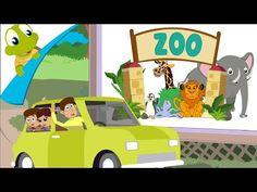 """Dance like the animals do with this active kids song """"Let's Go To The Zoo"""" from the CD and DVD """"Super Simple Songs - Animals."""" Stomp like elephants, jump lik..."""