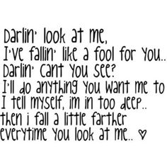 country lyrics <3