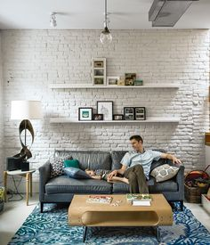 A family enlists Brooklyn design-build firm MADE to renovate a brownstone using surplus and salvaged materials for a budget-conscious patina. Photo by Matthew Williams.