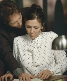 Proof that Maggie Gyllenhaal and James Spader are the original Anastasia and Christian