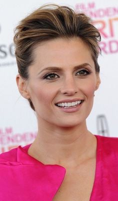 Beautiful Celebrities, Beautiful Actresses, Gorgeous Women, Most Beautiful, Castle Tv, Kate Beckett, Stana Katic, Film, American Actress