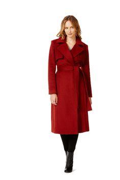 Table Eight Karima Longline Melton Coat | Outerwear | Table Eight