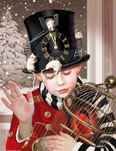 Playfull steampunk - This is the direction for Halloween adventure costuming. Steampunk Kids, Steampunk Fashion, Young Wizard, Labo Photo, Pierrot Clown, Night Circus, Dieselpunk, Figure Painting, The Magicians