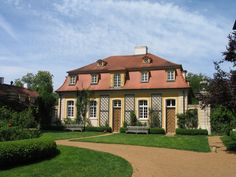 Schloss Dennenlohe, Mittelfranken - Nebengebäude