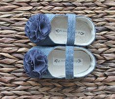 Carolina Soft Soled Baby Shoes by Bitsy Blossom