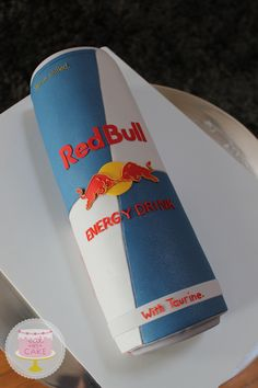 Red Bull cake - it gives you wings!