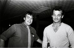 Dan Aykroyd and Bill Murray