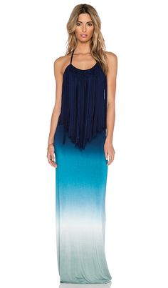 Young, Fabulous & Broke Georgie Maxi Dress in Blue Ombre | REVOLVE