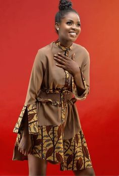 Style Inspiration: Latest Ankara Flair Styles - How to Wear them [Photos] - Beradiva Short African Dresses, Latest African Fashion Dresses, African Print Dresses, African Print Fashion, Africa Fashion, Mode Masculine, Ankara Mode, Ankara Stil, Trendy Ankara Styles