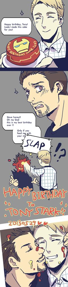 ⇦ Guess he still got fed in the end ⇨ I don't Ship Stony, but that cute