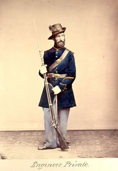 American Civil War Enlisted Uniforms - Engineer Private