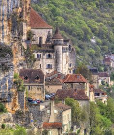 Rocamadour - Lot - France Rocamadour France, Belle Villa, Medieval, Images, Photos, Around The Worlds, Chateaus, Camping, Mansions