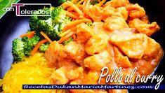 Pollo al Curry Dukan en dos versiones: la auténtica receta de Curry del sur de la India para fase Crucero y una versión impostora apta desde fase de Ataque. ¿Cuál te gusta más? Diet Recipes, Healthy Recipes, Healthy Food, I Foods, Meat, Chicken, Diabetes, India, Fitness