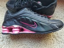 reputable site 7a4b7 876f3 Nike Shox Turbo Women s size 7 or Youth 5.5Y Black Pink Metallic Unique!