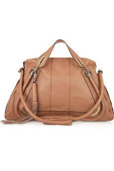 CHLOÉ  Paraty Medium tasseled leather bag  $2,395