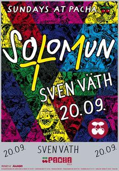 Solomun +1 with Sven Väth at Pacha Ibiza