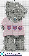 Мишка тедди - маленькая схема вышивки крестиком / Вышивка крестиком и бисером - схемы и хвастушки / Лунтики. Развиваем детей. Творчество и игрушки