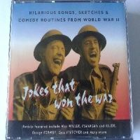 Jokes that Won the War! written by Various Wartime Comedians performed by Max Miller, Flanagan and Allen, George Formby and Cyril Fletcher on CD (Abridged)