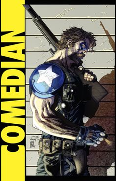 """The Comedian """"Before Watchmen"""" My entry for had some sweet Jim Lee lines to work on which is always awesome. The Comedian Comic Book Characters, Comic Character, Comic Books Art, Comic Art, Hq Marvel, Marvel Dc Comics, Captain Marvel, Watchmen Hq, Cosplay Games"""