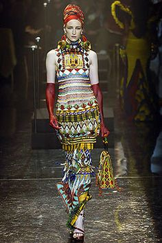 Jean Paul Gaultier, Look #30, 2005 couture