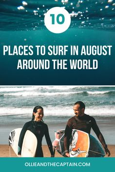 Whether you're looking for the best places to learn to surf or you're a pro in search of your next steep barrel, there will be something for you to enjoy in August. Here's our top pick for places to surf in August. Learn To Surf, The Good Place, Barrel, Surfing, Around The Worlds, Waves, Learning, Search, Top