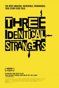 Three Identical Strangers synopsis and movie info. The true story of how and why identical triplets were separated and years later, when they were Feel Good Stories, True Stories, Streaming Vf, Streaming Movies, 2018 Movies, Movies Online, Strangers Online, English Play, Movie Info