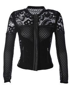 stunning IRO black lace jacket! avaliable at stanwells.com #IRO