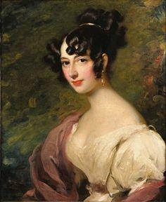 Sir Thomas Lawrence Portrait of Princess Dorothea von Lieven - Benckendorff Oil on Canvas ca.1815